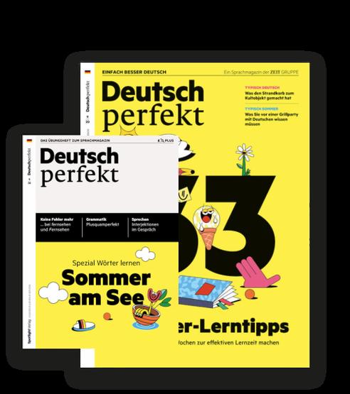 Sprachmagazin + Übungsheft gratis