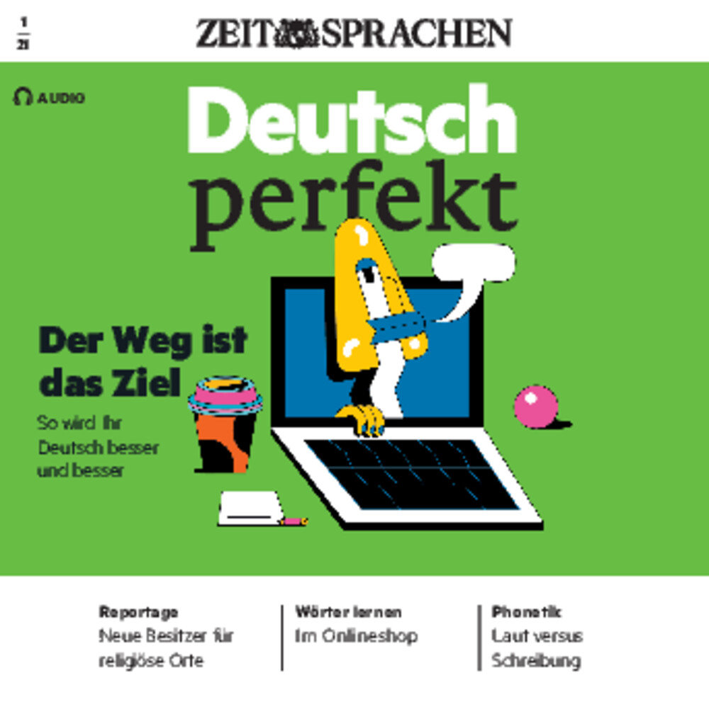 Deutsch perfekt Audio Trainer ePaper 01/2021