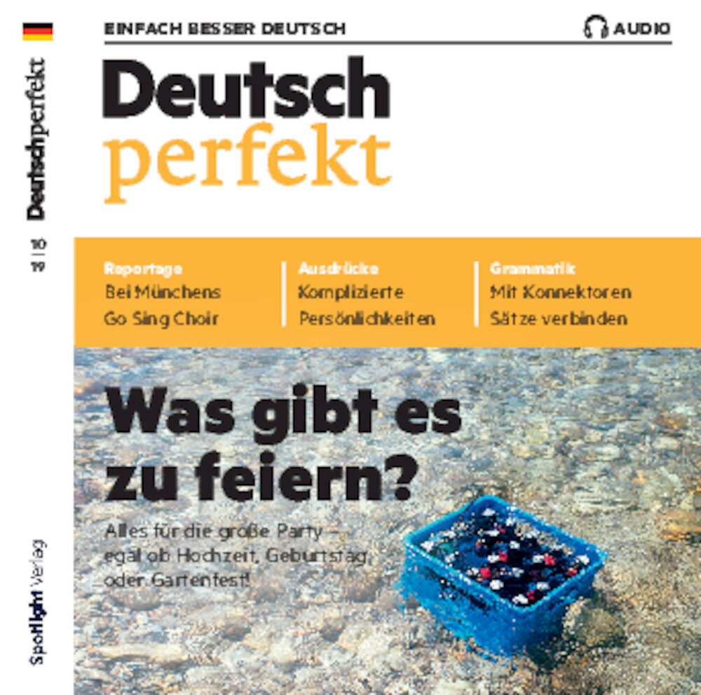 Deutsch perfekt Audio Trainer ePaper 10/2019