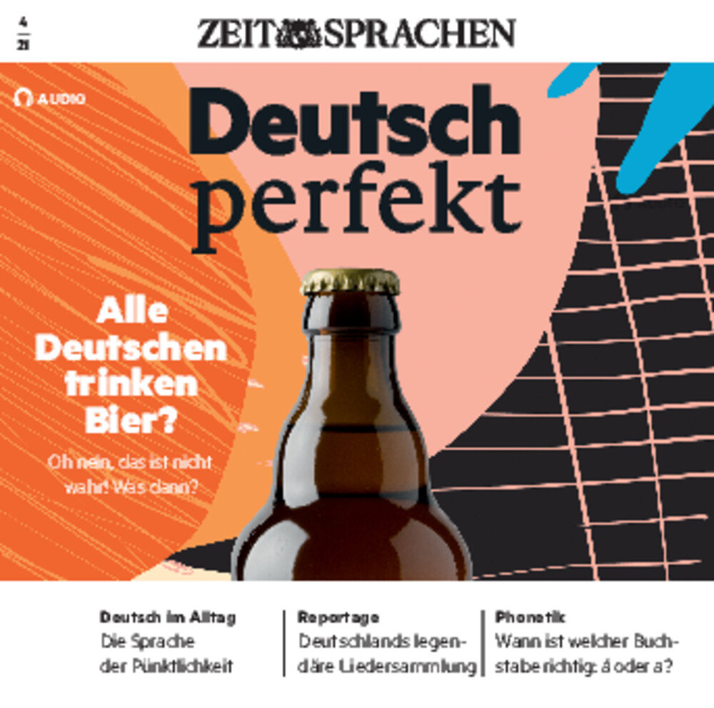 Deutsch perfekt Audio Trainer ePaper 04/2021