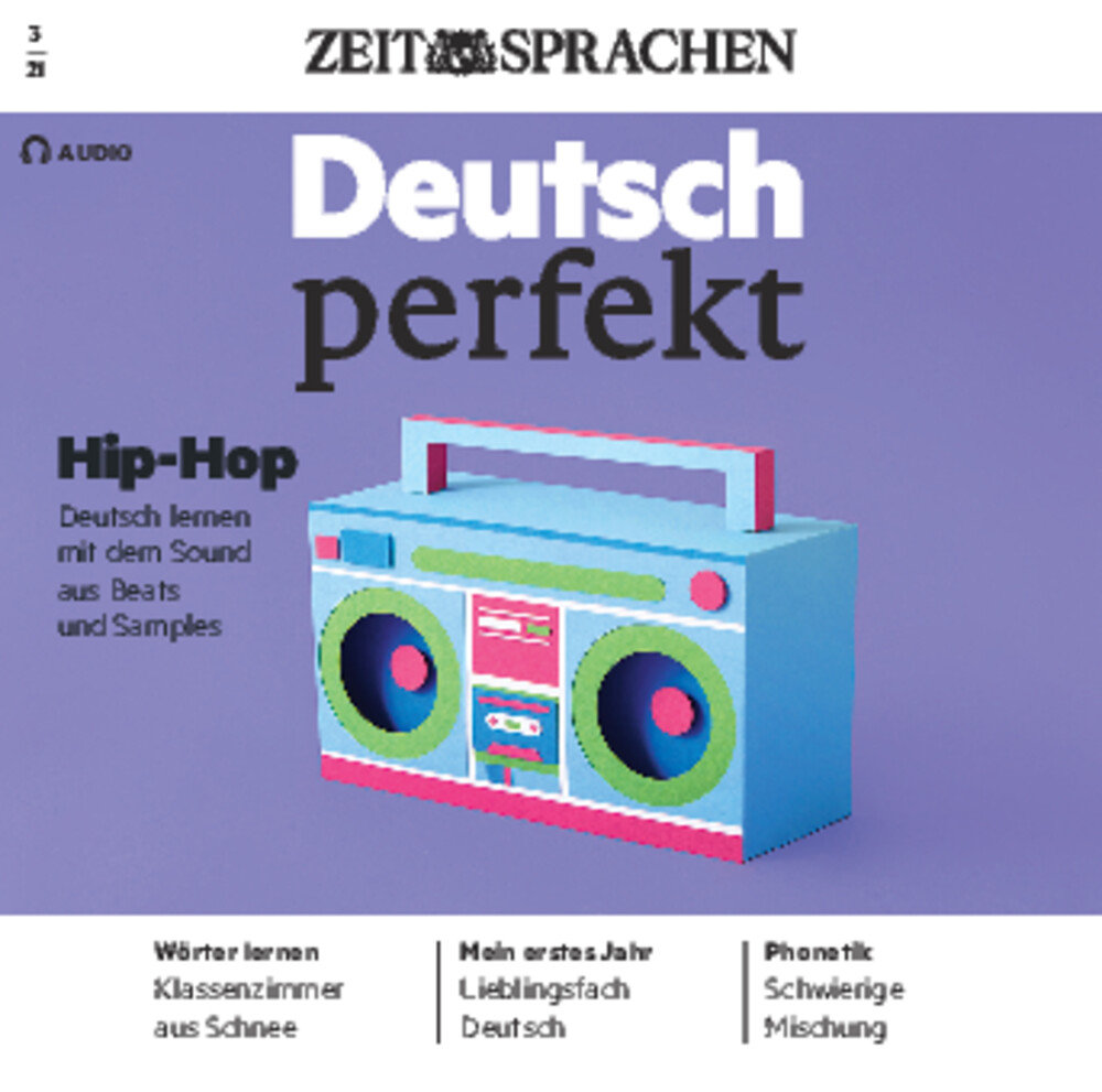 Deutsch perfekt Audio Trainer ePaper 03/2021