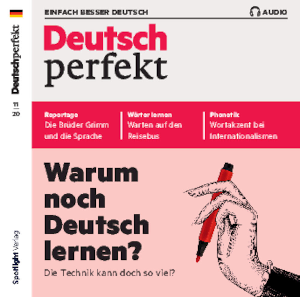 Deutsch perfekt Audio Trainer ePaper 11/2020