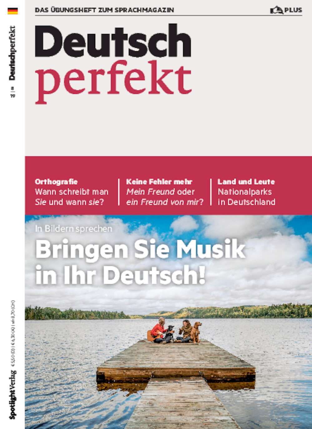 Deutsch perfekt PLUS 08/2019