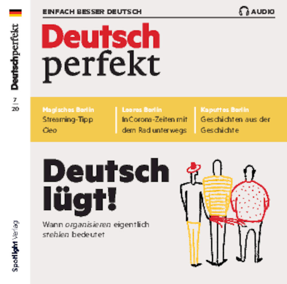 Deutsch perfekt Audio-CD 07/2020