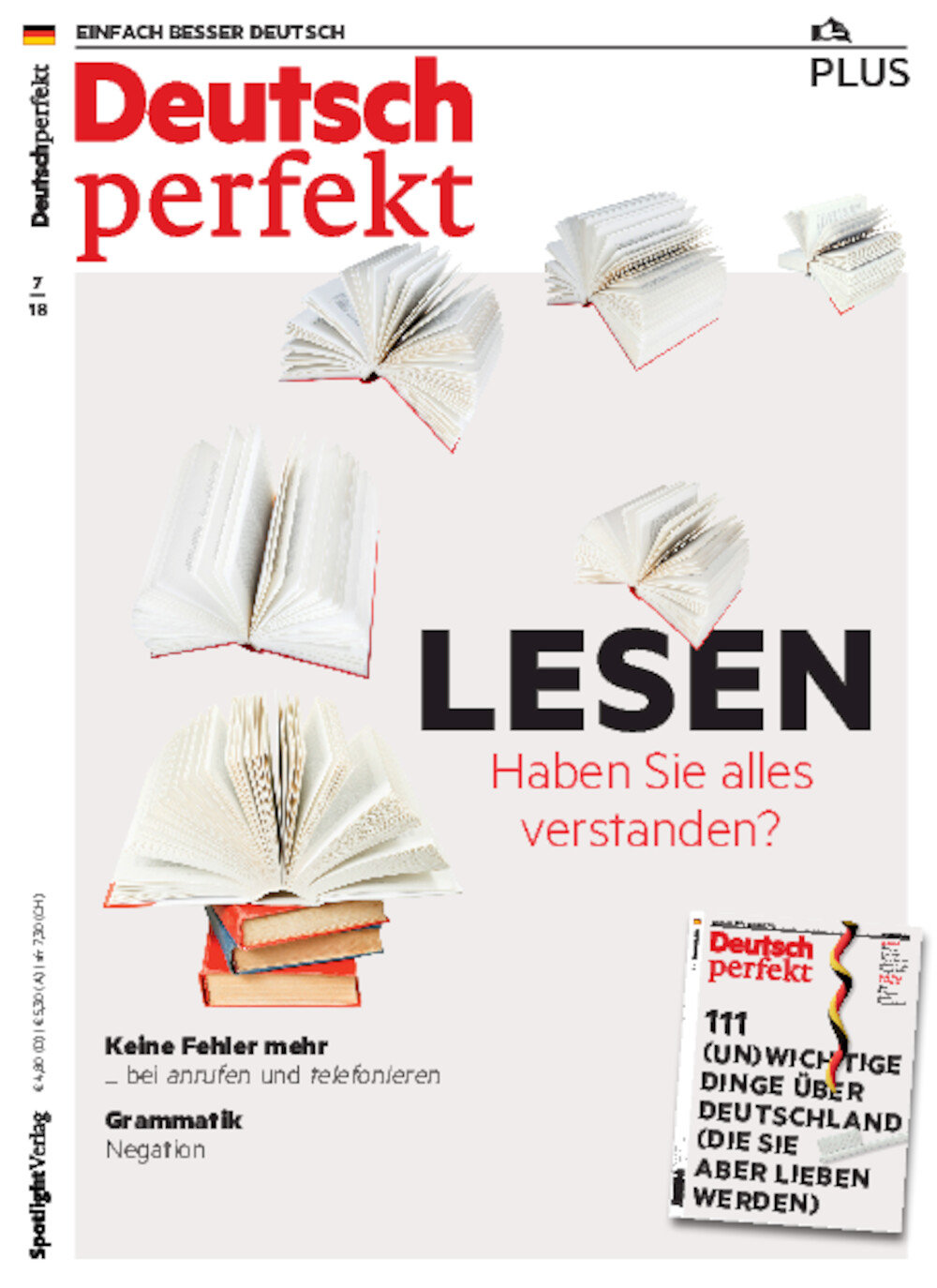 Deutsch perfekt PLUS 07/2018