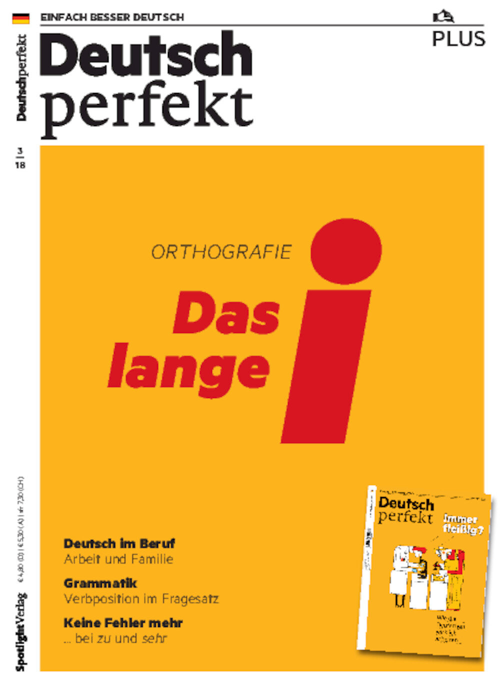 Deutsch perfekt PLUS 03/2018
