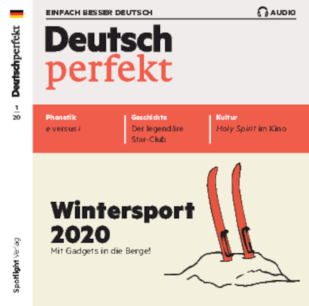 Deutsch perfekt Audio-CD 01/2020