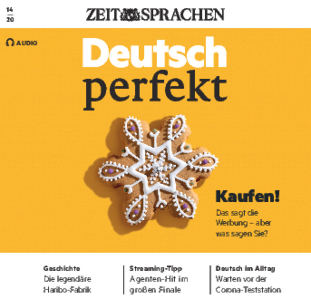 Deutsch perfekt Audio-CD 14/2020