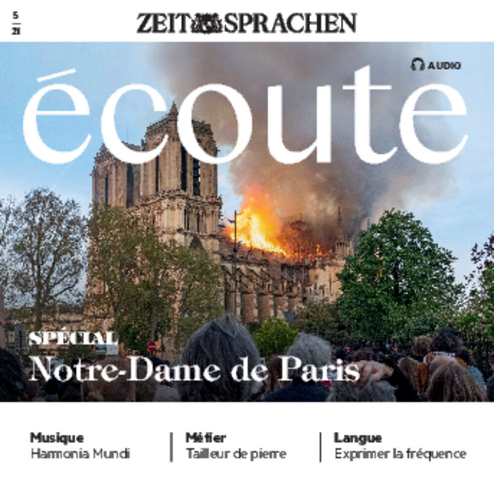 Écoute Audio CD 05/2021