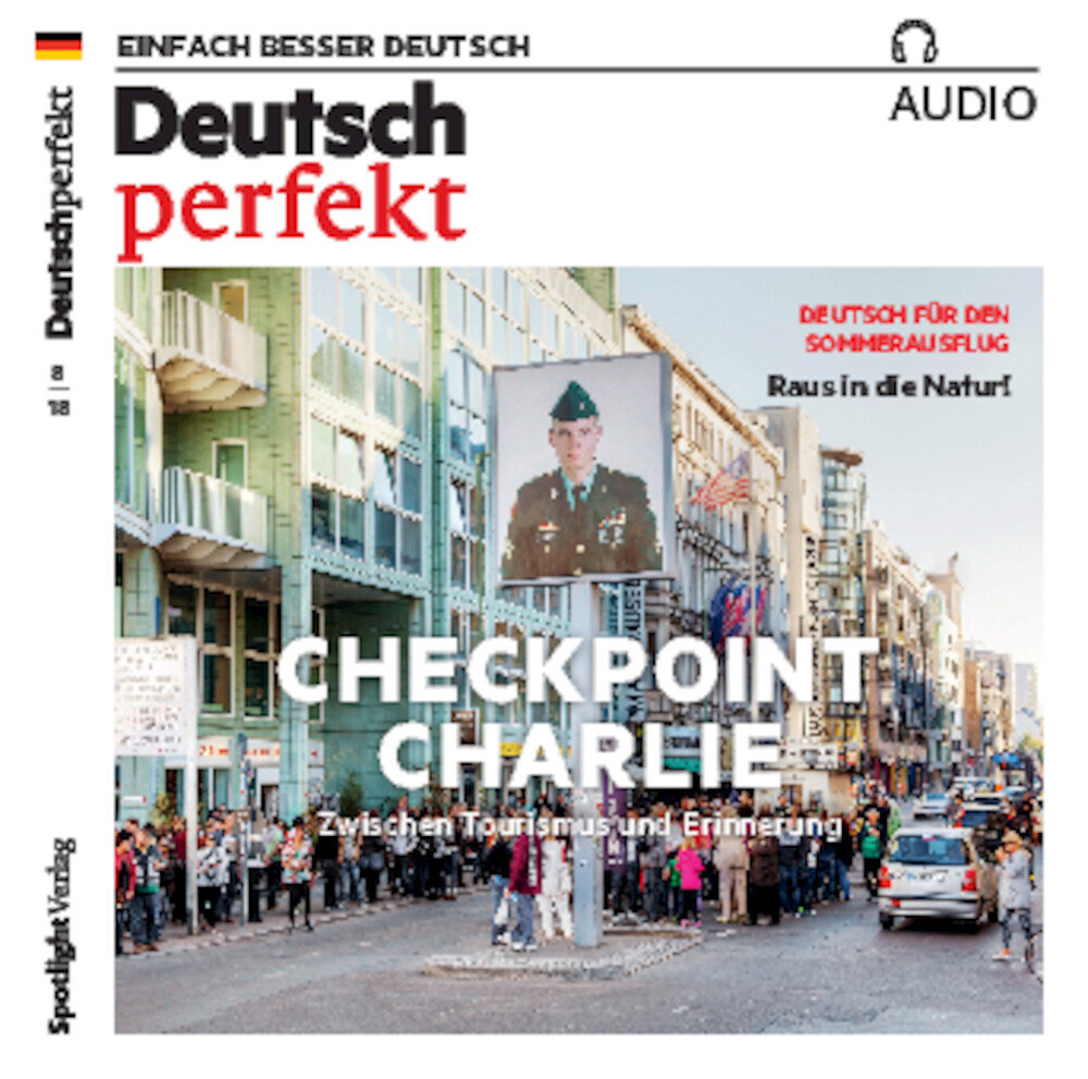 Deutsch perfekt Audio Trainer ePaper 08/2018