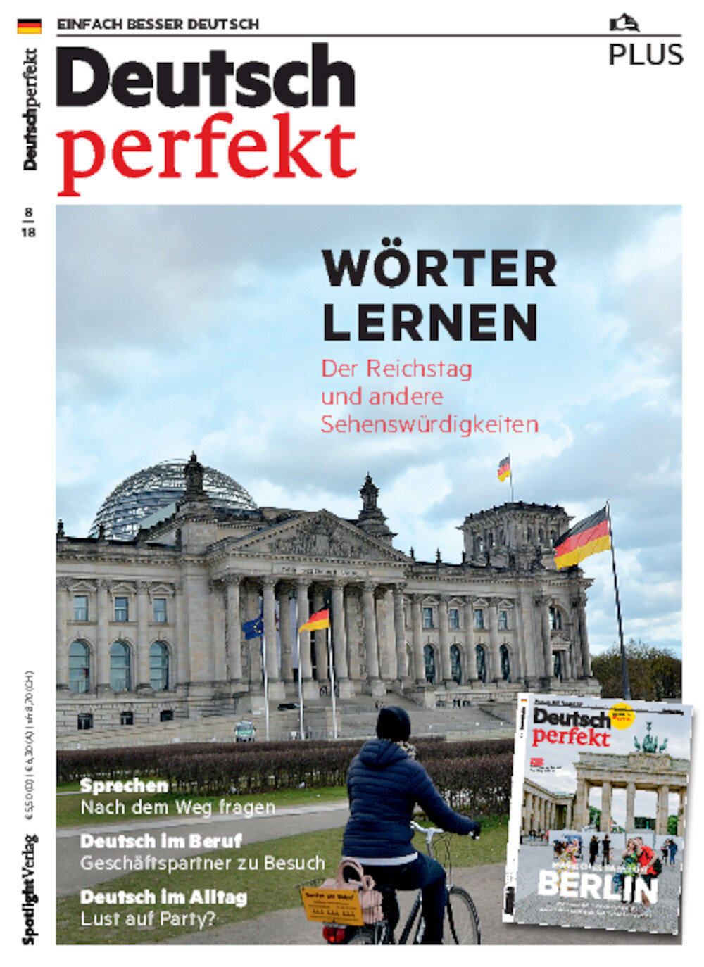 Deutsch perfekt PLUS ePaper 08/2018