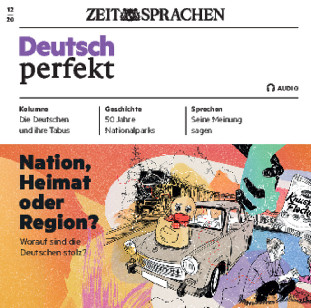 Deutsch perfekt Audio Trainer ePaper 12/2020