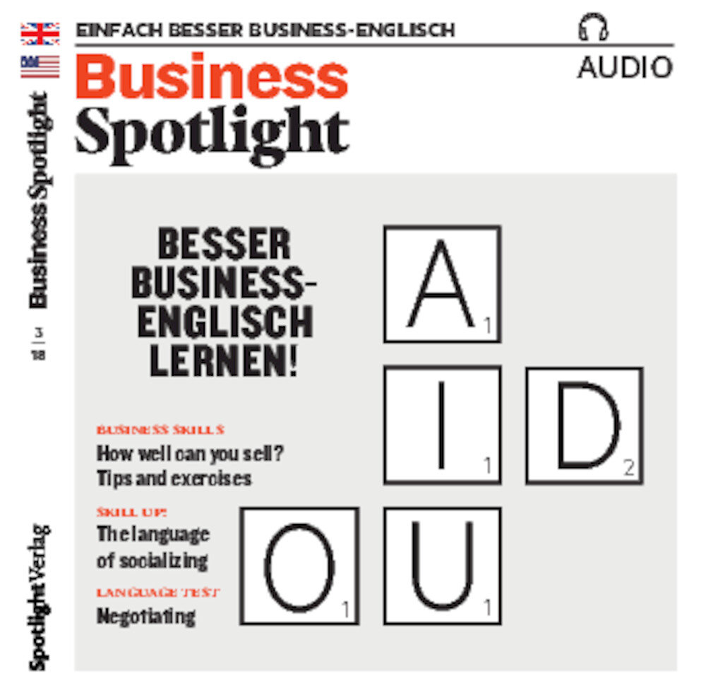 Business Spotlight Audio Trainer ePaper 03/2018