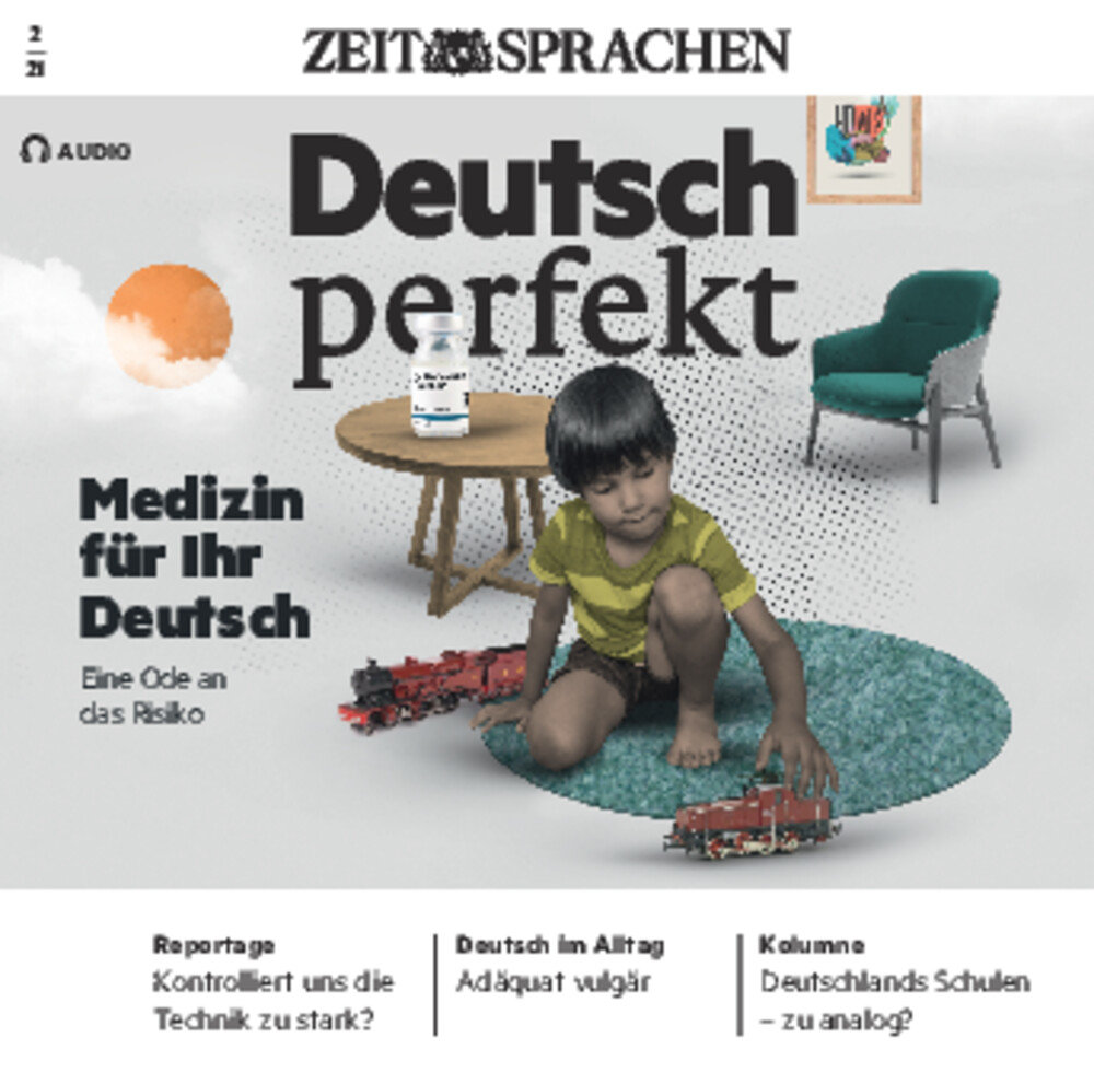Deutsch perfekt Audio Trainer ePaper 02/2021