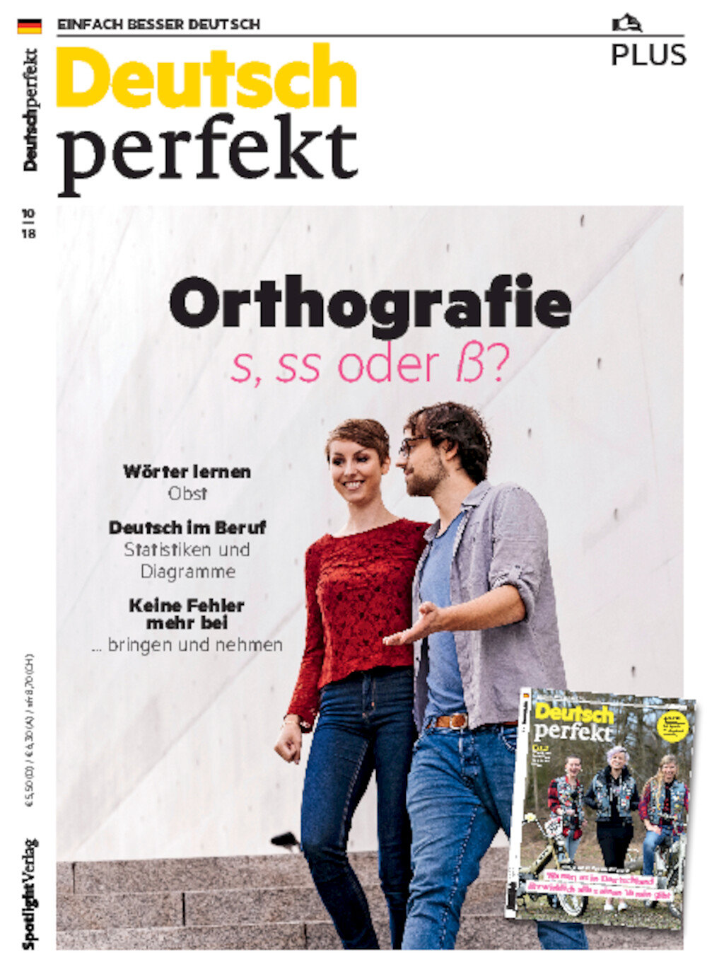 Deutsch perfekt PLUS 10/2018