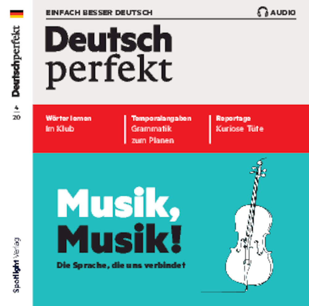 Deutsch perfekt Audio Trainer ePaper 04/2020