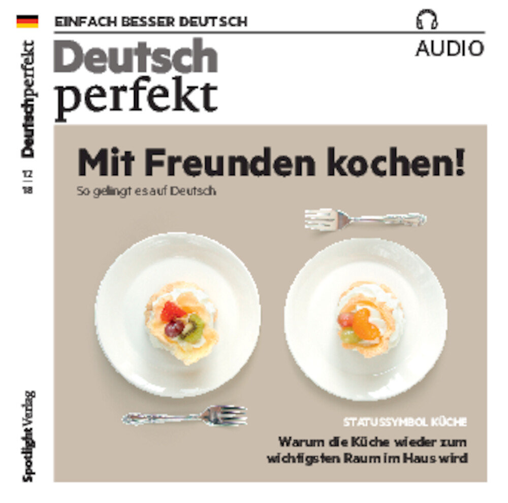 Deutsch perfekt Audio Trainer ePaper 12/2018