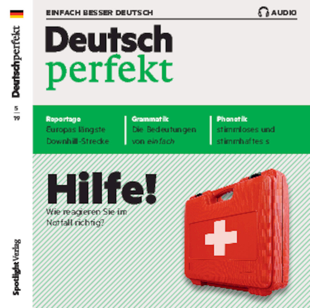 Deutsch perfekt Audio-CD 05/2019