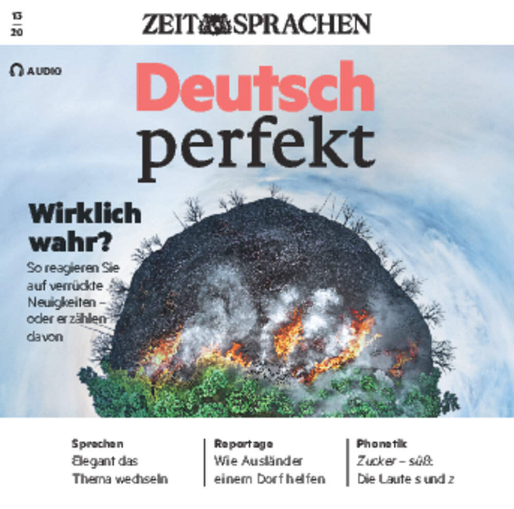 Deutsch perfekt Audio Trainer ePaper 13/2020