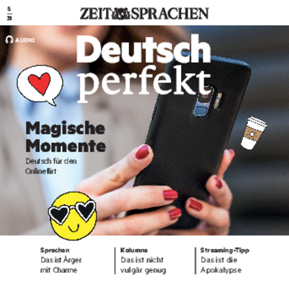 Deutsch perfekt Audio Trainer ePaper 05/2021
