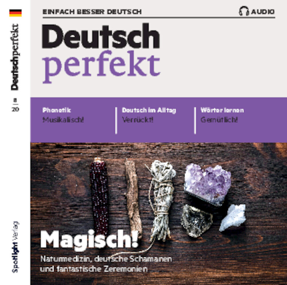 Deutsch perfekt Audio-CD 08/2020
