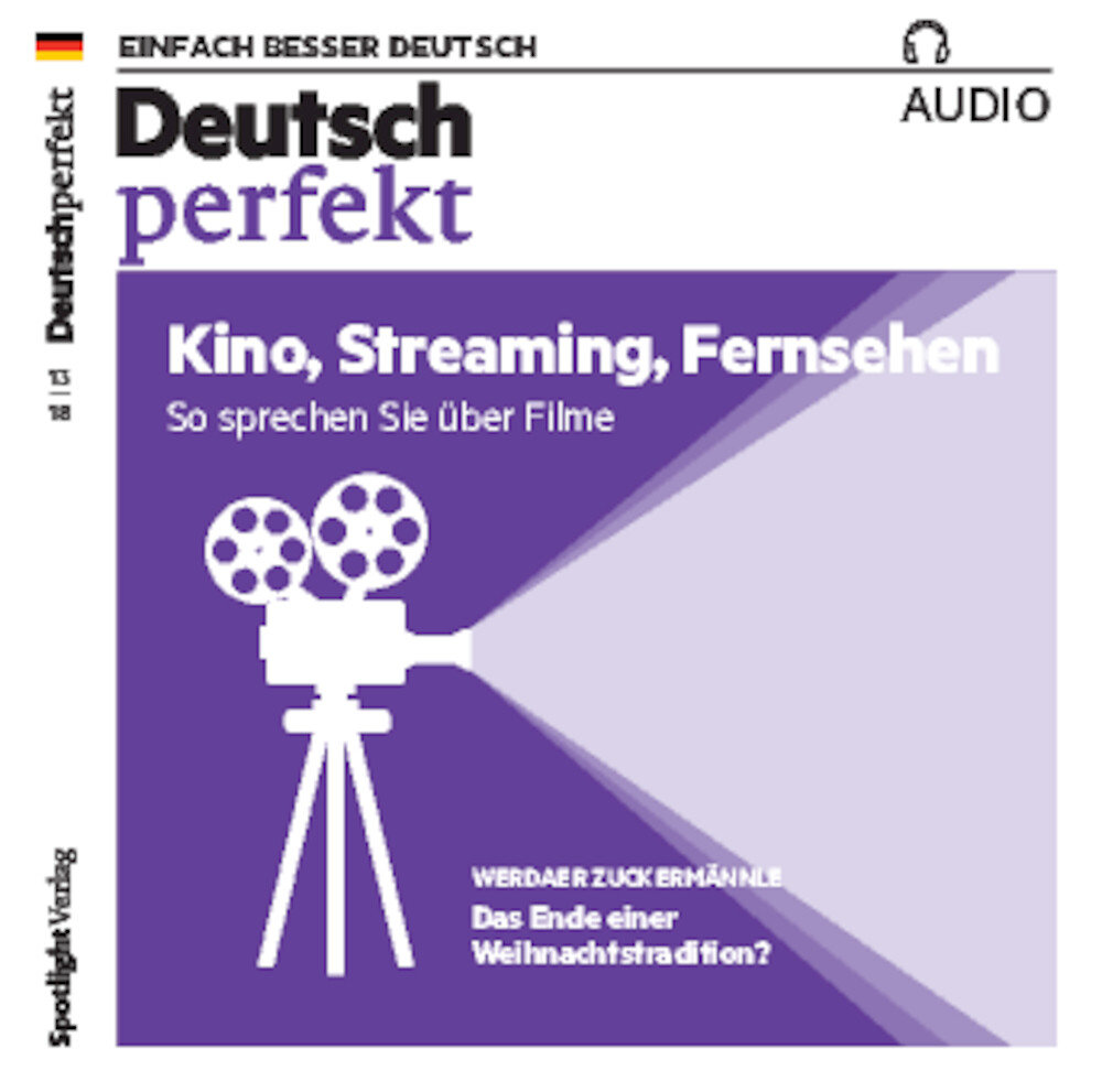 Deutsch perfekt Audio-CD 13/2018