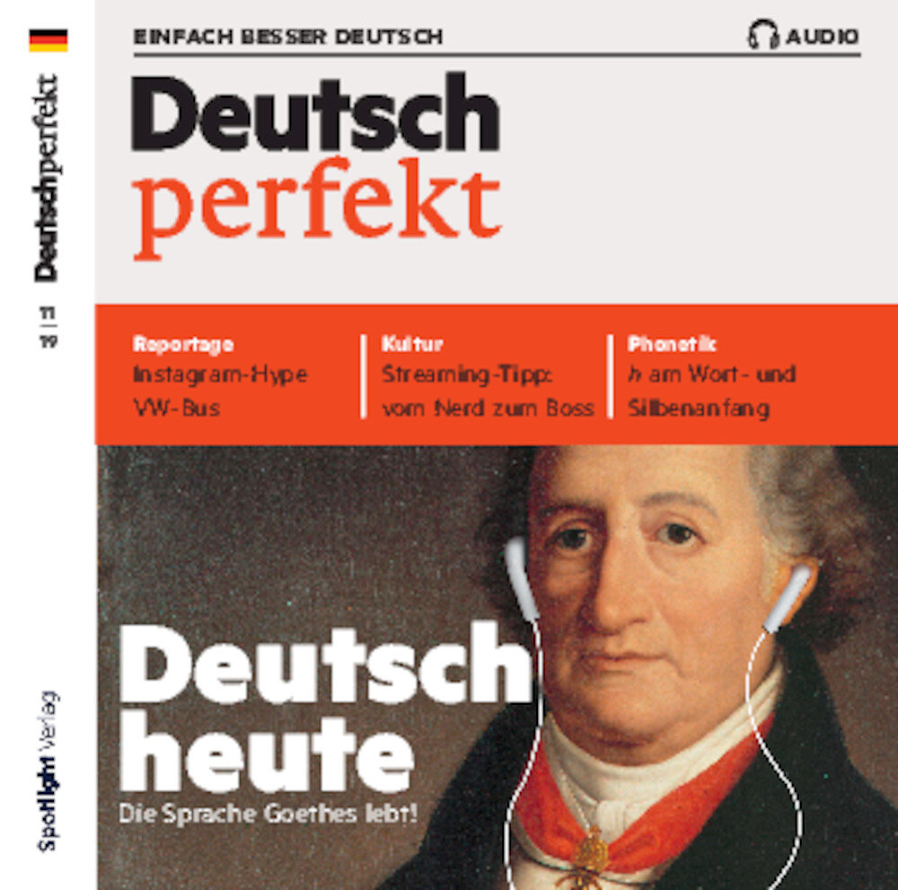 Deutsch perfekt Audio Trainer ePaper 11/2019