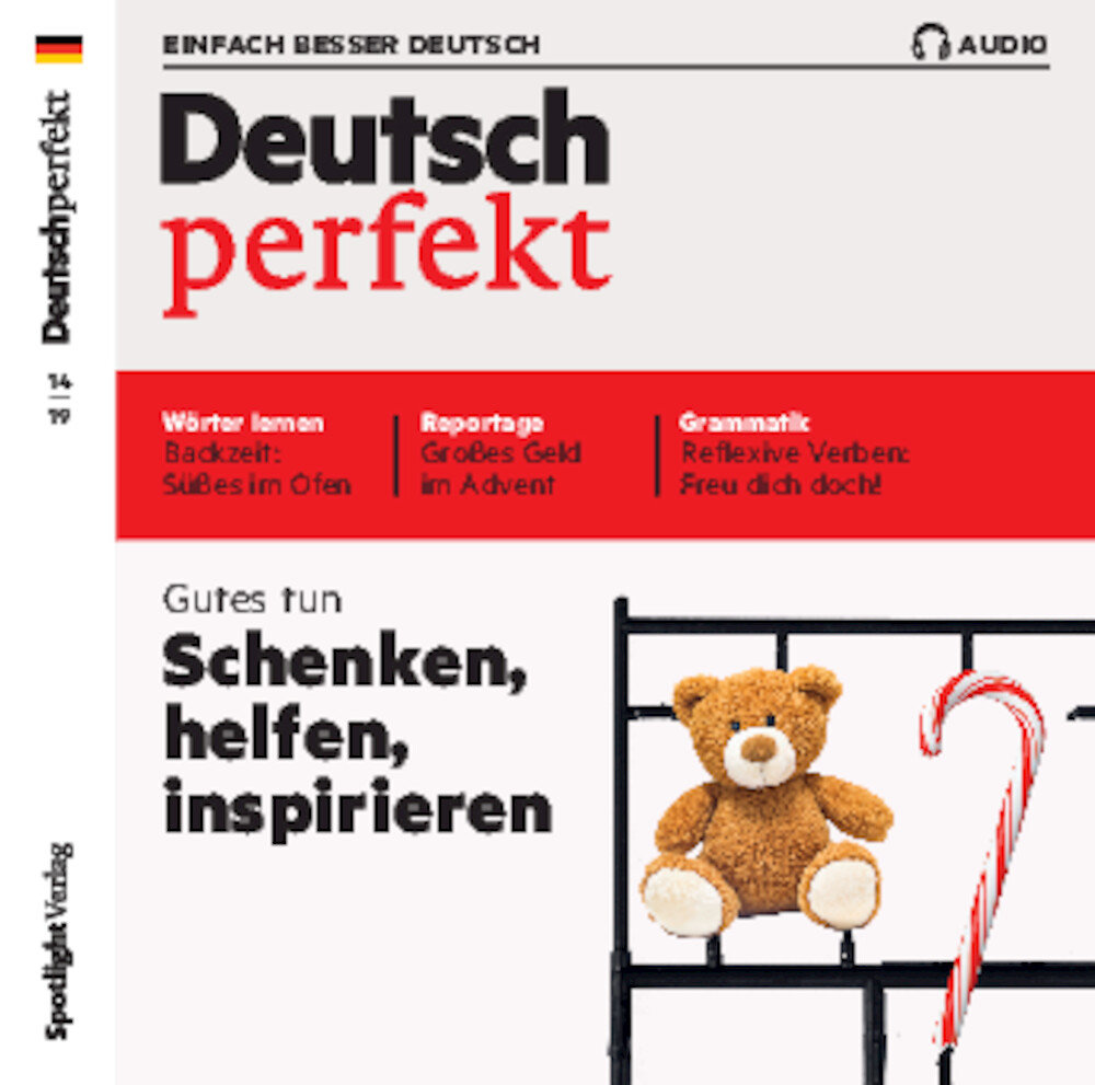 Deutsch perfekt Audio-CD 14/2019