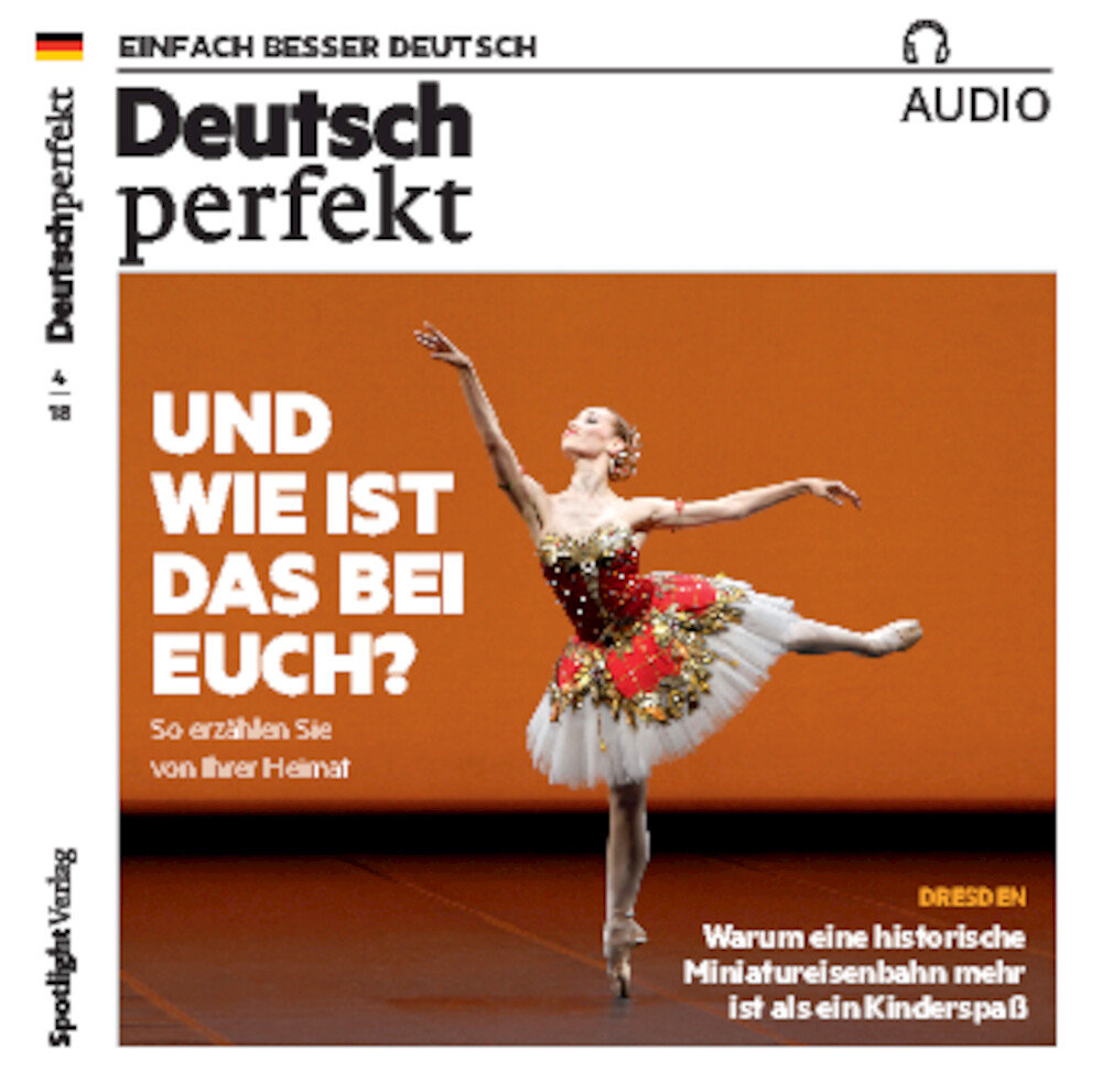 Deutsch perfekt Audio Trainer ePaper 04/2018
