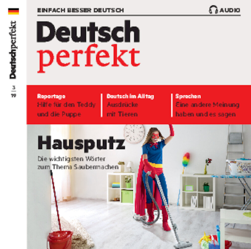 Deutsch perfekt Audio Trainer ePaper 03/2019