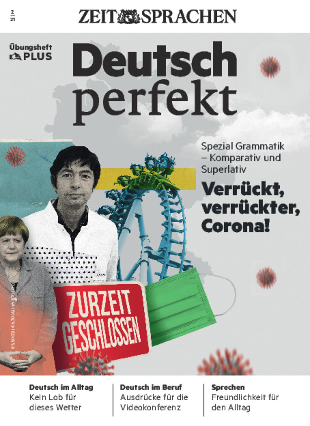 Deutsch perfekt PLUS ePaper 02/2021