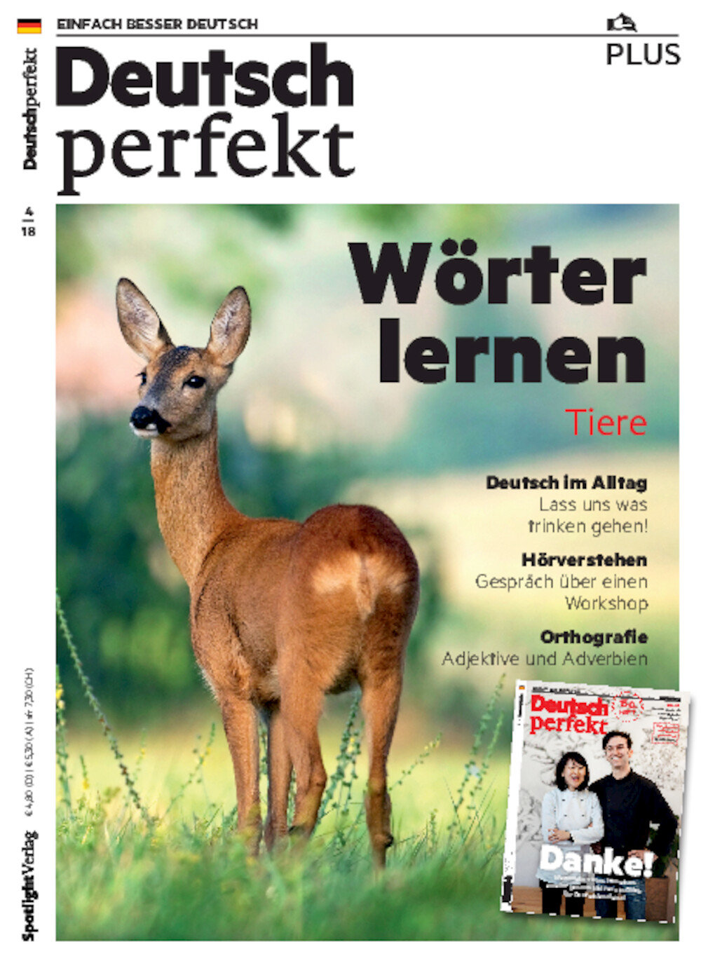 Deutsch perfekt PLUS ePaper 04/2018
