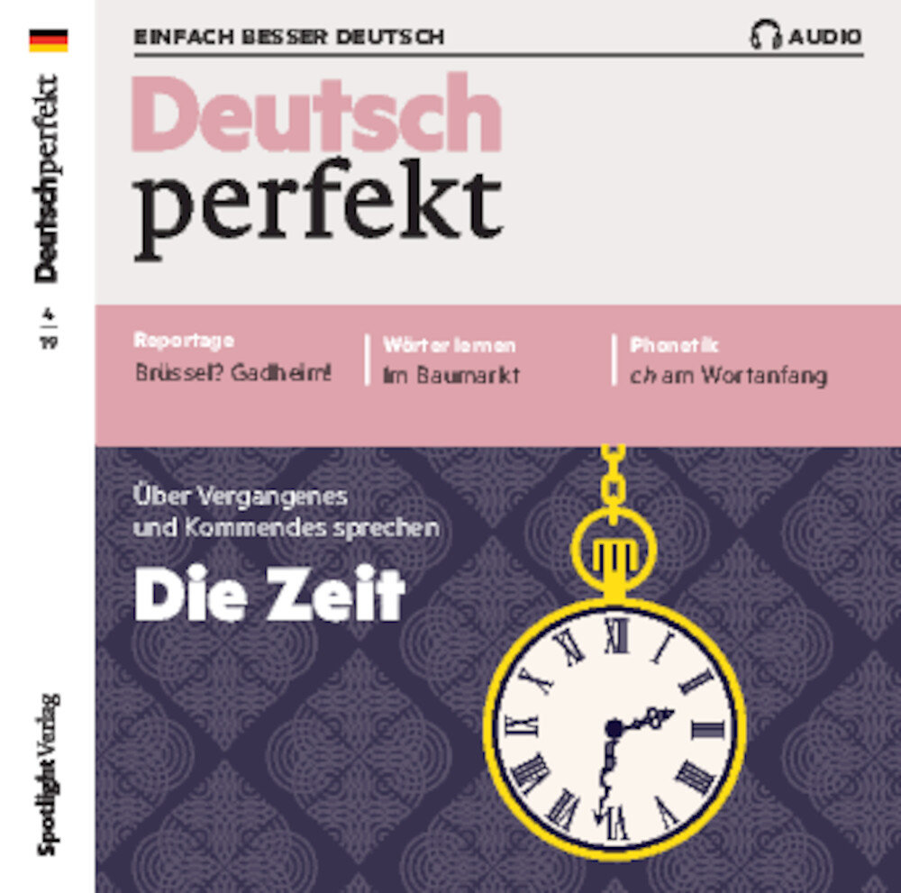 Deutsch perfekt Audio Trainer ePaper 04/2019