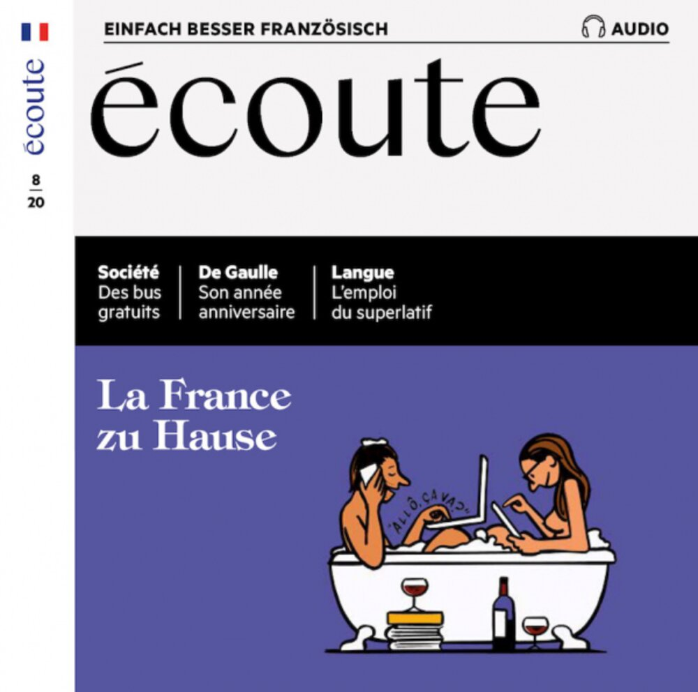 Écoute Audio-CD 08/2020