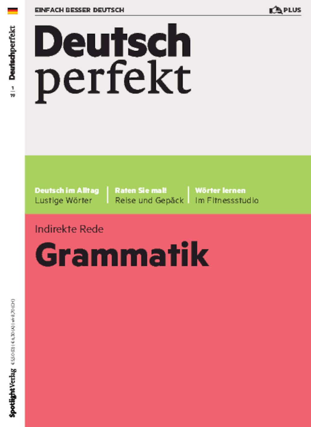 Deutsch perfekt PLUS 01/2019