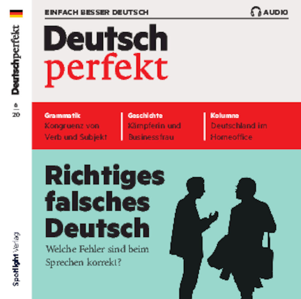 Deutsch perfekt Audio-CD 06/2020