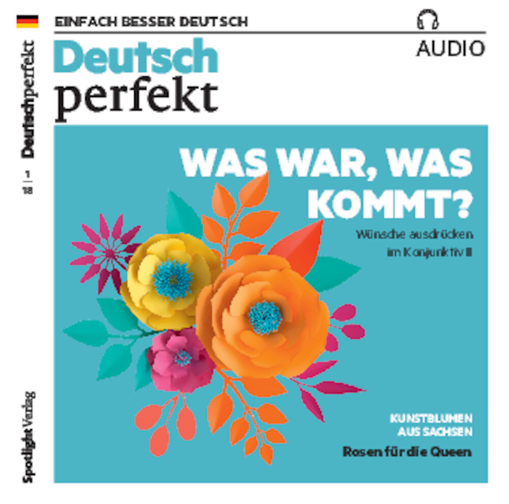 Deutsch perfekt Audio Trainer ePaper 01/2018